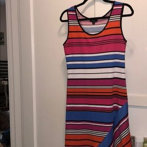 MSK Striped Tank Dress